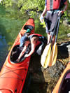 kayaking quipment